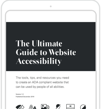 The Ultimate Guide to Website Accessibility Cover