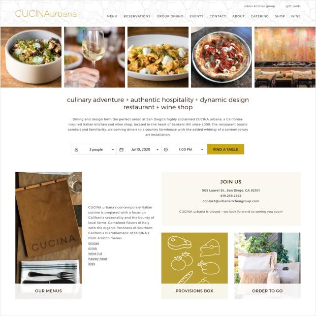 Urban Kitchen Group S Cucina Restaurants Noble Intent Studio