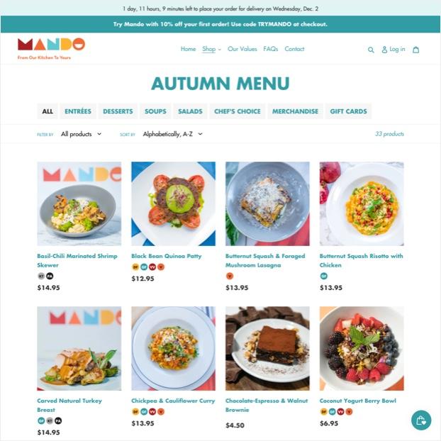 mando-menu